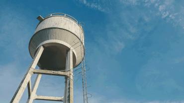 Caixa d'água limpa, saúde garantida